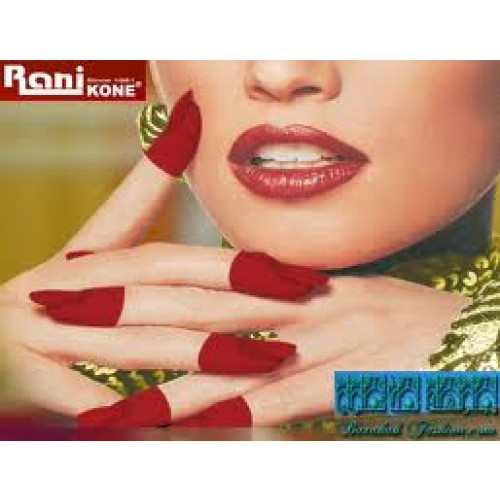 Mehndi For Nails : Rani nail henna red buy islamic books online