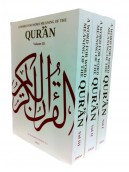 A Word for Word Meaning of the Quran (3 Vol. Set)